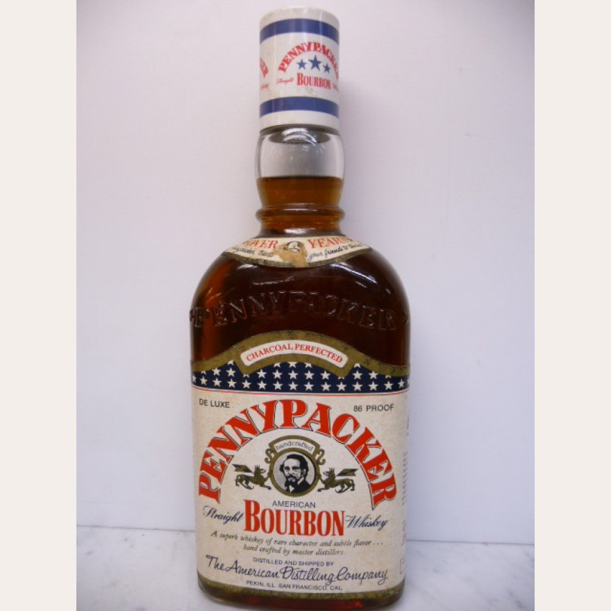 Penny Packer over 6y Straight Bourbon Whiskey ADC Borco-Import hamburg 43% 0,7l