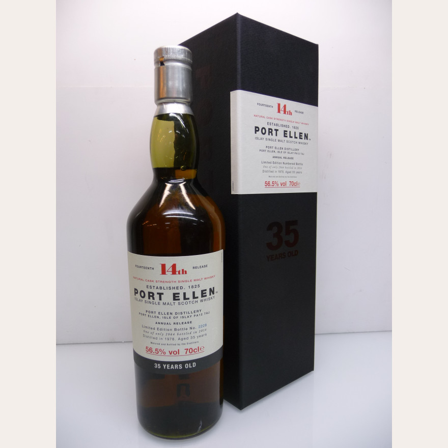 Port Ellen 1978 35 years Originalabfüllung 2014 14th Release 56,5% 70cl