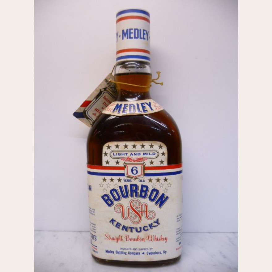 Medley Straight Bourbon Whiskey 6y 43% 70cl