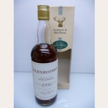 Glenrothes 1956 Gordon & Macphail Bottling 1981 with box 40% 75cl