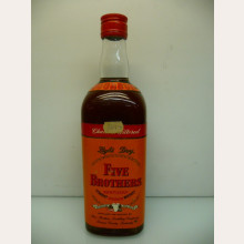 Five Brothers Straight Bourbon Whiskey 43% 86 Proof 0,7l